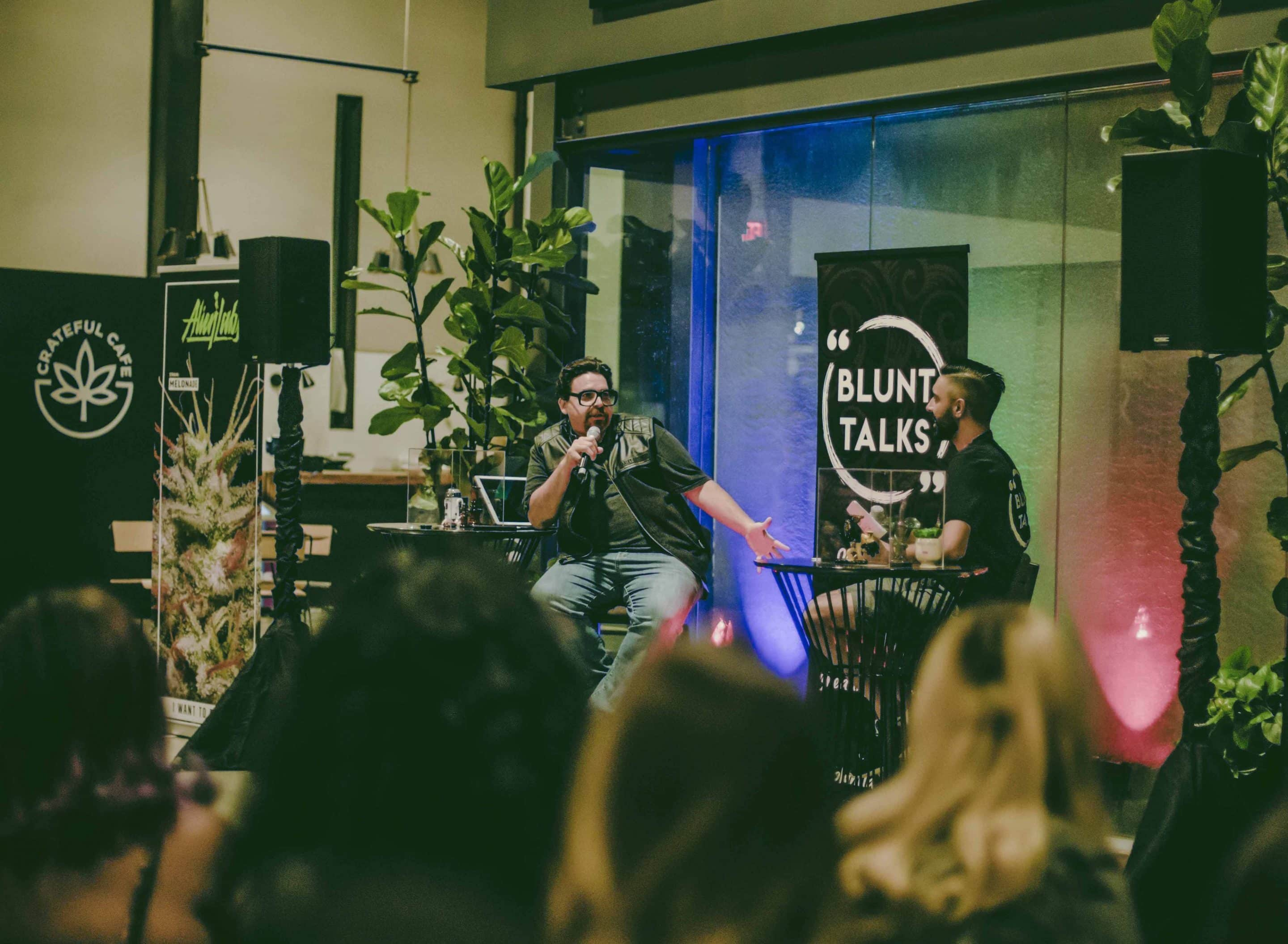 """Former Chief Cannabis Evangelist at Eaze and the Cannabis Producer for VICELAND's Bong Appétit, Jason Pinsky had a """"fireside chat"""" with co-host Sam Zartoshty. They talked about how to stay true to your brand during this time. """"Right now, as cannabis turns into a commoditized industry, brand building is really key,"""" he said."""