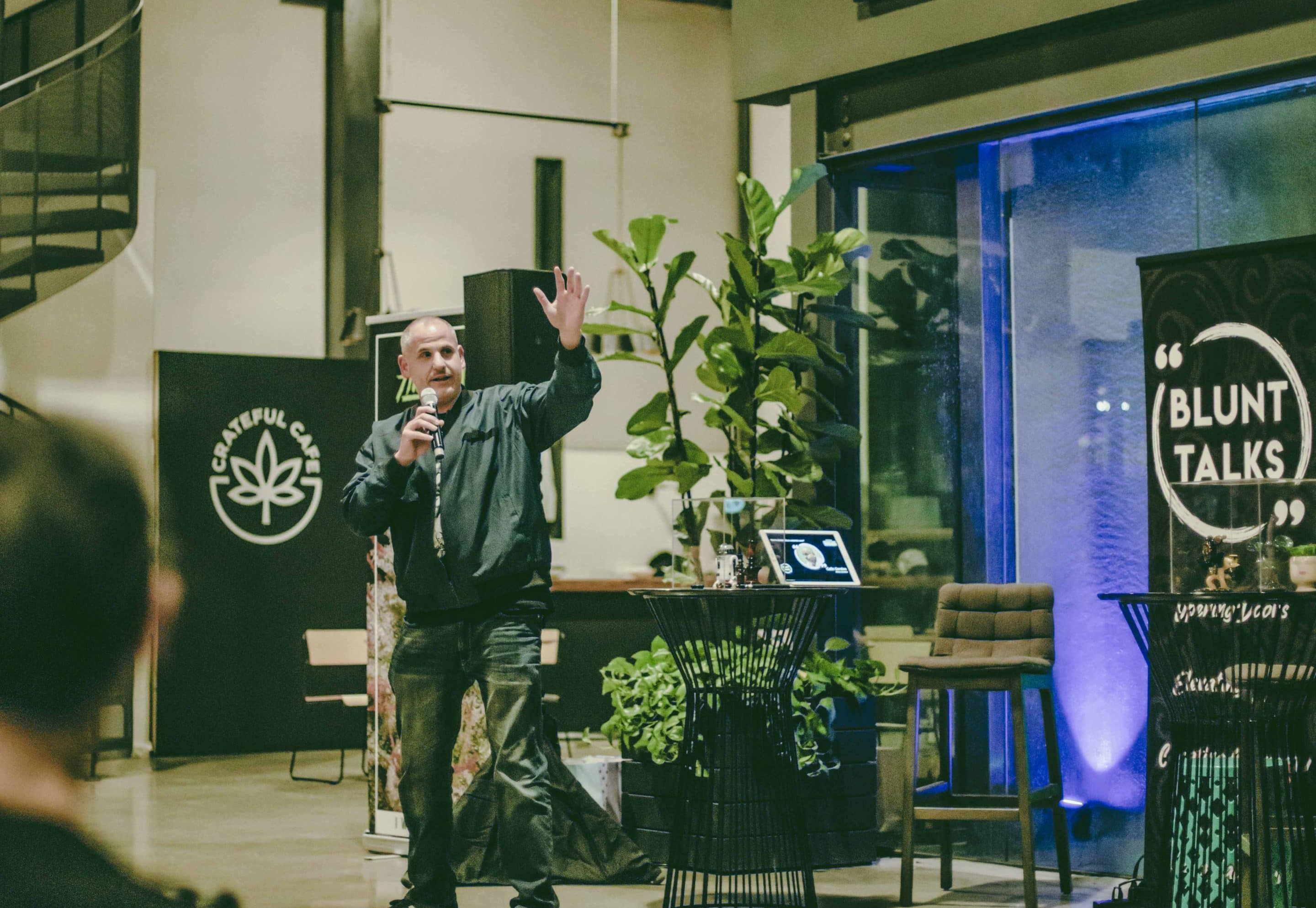 """Founder and CEO of Ethos Genetics, the largest and most diverse cannabis seed collection in the world, Colin Gordon gave advice for how to succeed in the cannabis industry. """"Find your niche … do what you're fashioned to do,"""" he said."""